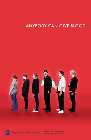 Bloody powerful blood donation quotes and slogans that work 1 anybody can give blood altavistaventures Image collections