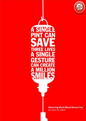 bloody powerful blood donation quotes and slogans that work created to raise awareness for the world blood donors day back in 2012 this quote is one of my favorites because it manage to create a sens of belonging to