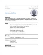 Sample resume for entry level phlebotomist