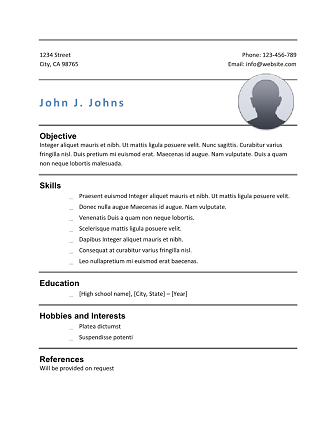 phlebotomy resume simple start